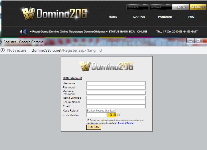 Domino206 Agen Situs Judi Online Gampang Menang