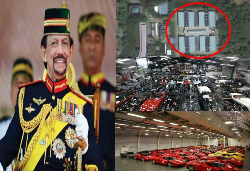 Ini Baru Sultan! Intip Koleksi 7000 Mobil Mewah Milik Sultan Brunei